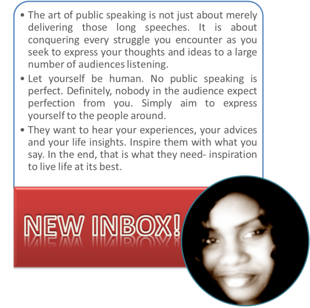The art of public speaking by fa ndiaye