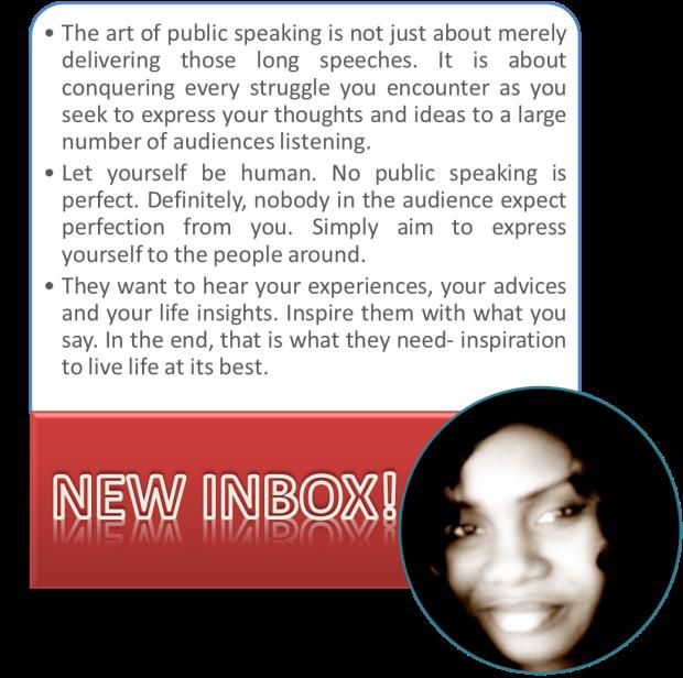 The art of public speaking by fa ndiaye